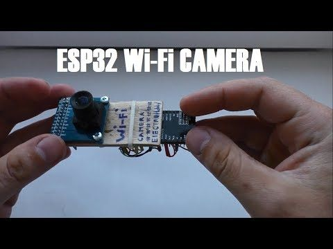 ESP32 wifi camera – YouTube
