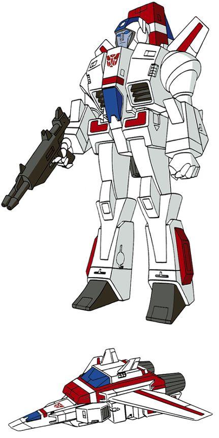 Transformers Generation 1 Cartoon Characters : Best ideas about transformers jetfire on pinterest