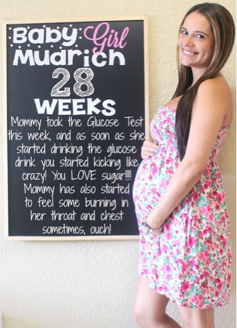 Laura & Co.: Week 28 Pregnancy Chalkboard Weekly Tracker baby bump, bump, chalkboard, chalkboard pregnancy tracker, first time mom, glucose, glucose test, mom to be, Pregnancy, pregnancy chalkboard, Pregnant, weekly, weekly bump, weekly picture