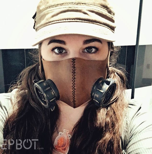 """EPBOT: My Faux """"Respirator"""" Mask For Cons - Free Template & Tutorial!"""