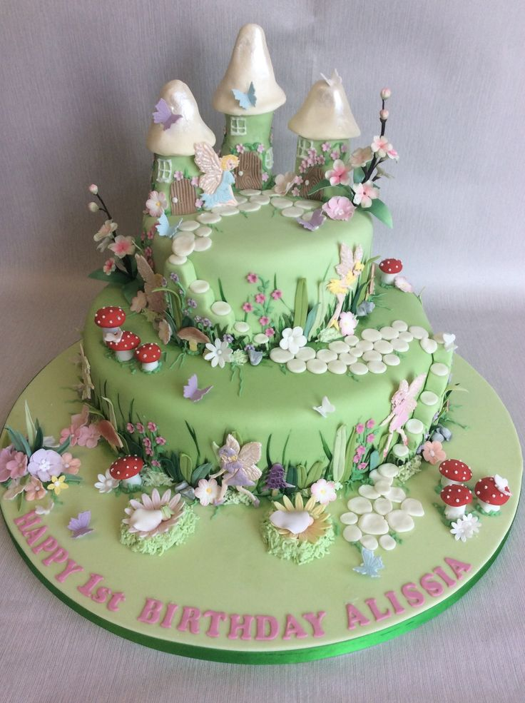 74 best 1st Birthday Cakes - Multi-tiered images on ...