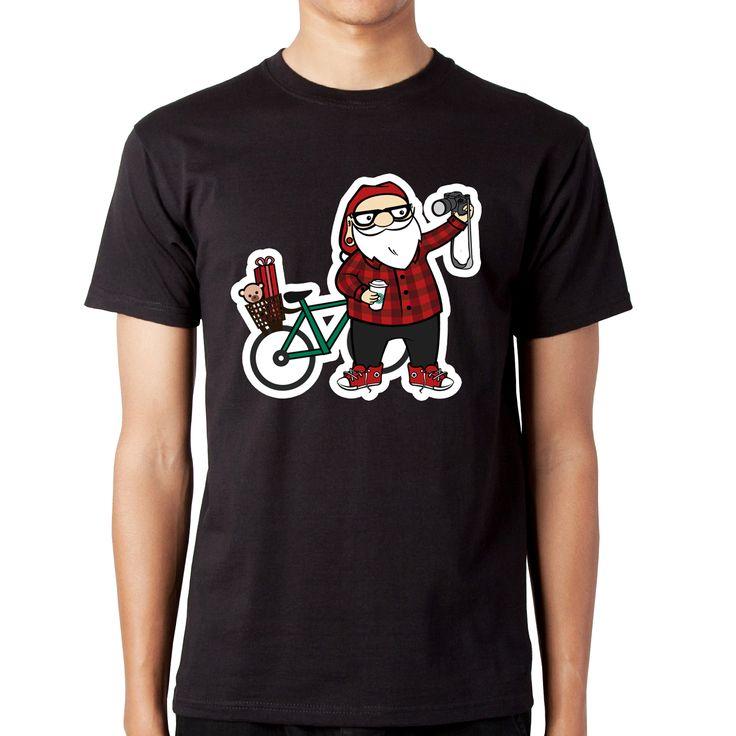 Mosu' Hipster este pregatit sa iti aduca cu bicicleta cadourile! http://www.fungift.ro/magazin-online-cadouri/Tricou-Mosu-Hipster-p-18647-c-276-p.html