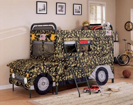 Safari Themed Bunk Bed