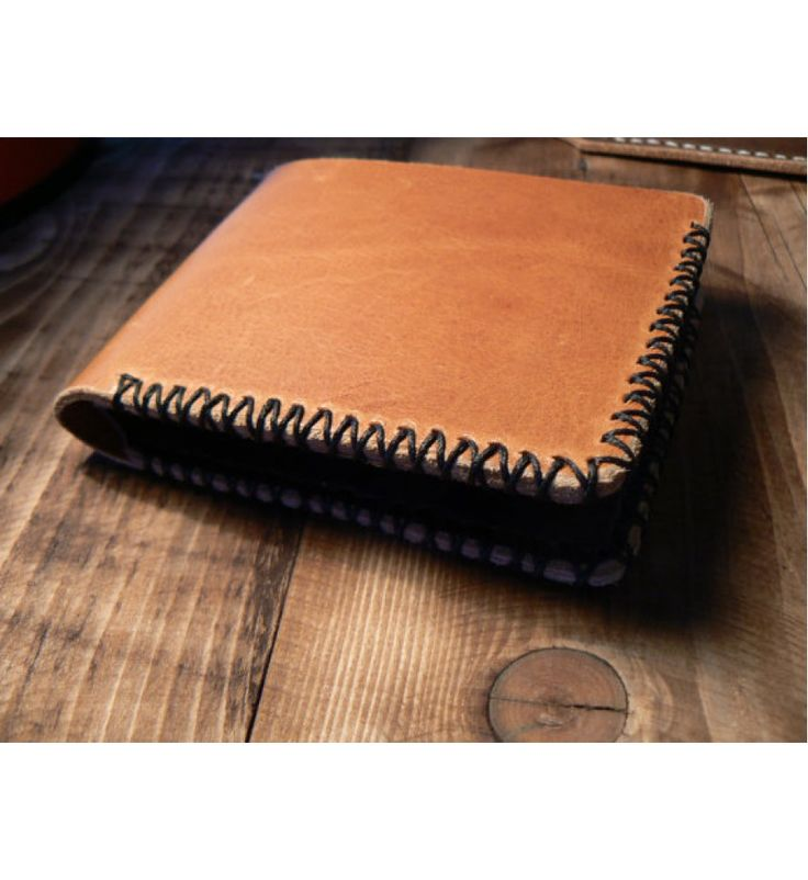 Men's Bi-Fold Wallet , Brown Leather Wallet