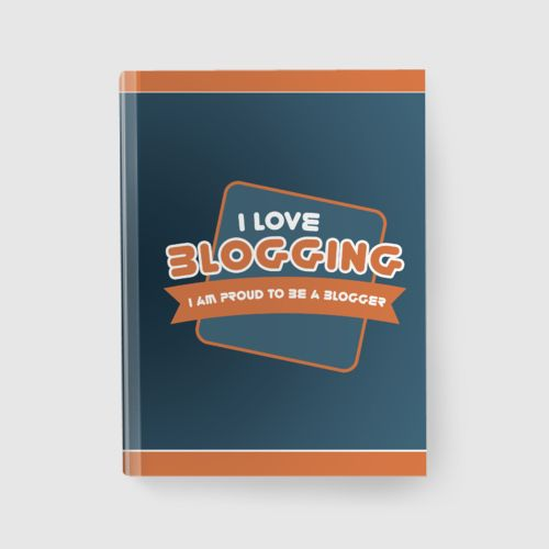 Notebook Blogging dari Tees.co.id oleh Demrg Cloth