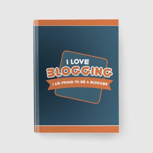 Notebook Blogging dari Tees.co.id oleh Demrg Cloth