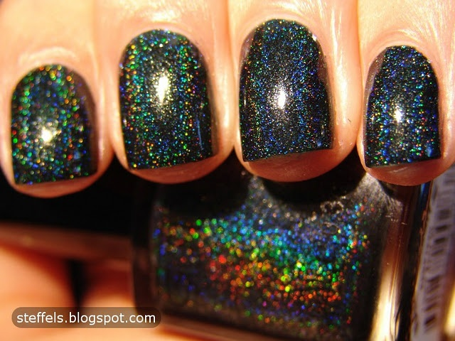 Rainbow!: Glitter Gal, Marine Blue, Gal Lizards, Lizards Belly, Glitter Polish, Nails Polish, Hair Nails, Holographic Nails, Rainbows Glitter Nails