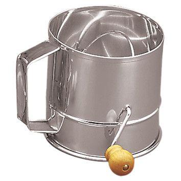 Fox Run Craftsmen Stainless Steel Crank Sifter (3 Cups) $15.95