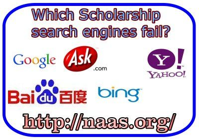 Scholarship Search Engines: Which browser is better for Scholarship Searches? Bing vs. Google vs. Yahoo. A professional report on browsing for scholarships, and searching for financial-aid. This  Weekly Scholarship Search Report is a must for students, parents, and educators searching for financial-aid.   http://www.naas.org/scholarship-searches.php