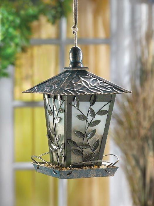 victorian style bird feeder