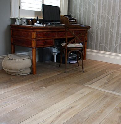 Fumed White Oak Floor    Nice Tone And Texture
