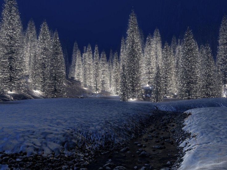 Christmas scenery free download hd snowy christmas scene Beautiful snowfall pictures