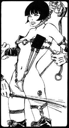 Guido Crepax illustrated version of The Story of O