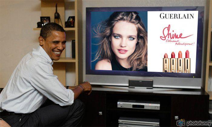Guerlain Rouge Automatique Lipstick watch live Obama