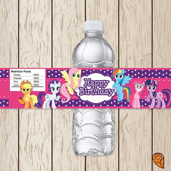 Hey, I found this really awesome Etsy listing at https://www.etsy.com/listing/198350378/printable-my-little-pony-water-bottle