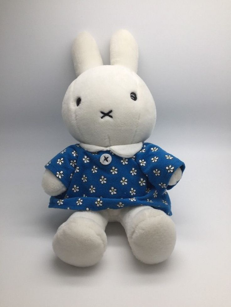 "Miffy 15"" Plush Doll Toy Bunny Rabbit 2007 Jakks Pacific in Toys & Games, Soft Toys & Stuffed Animals, Branded Soft Toys 