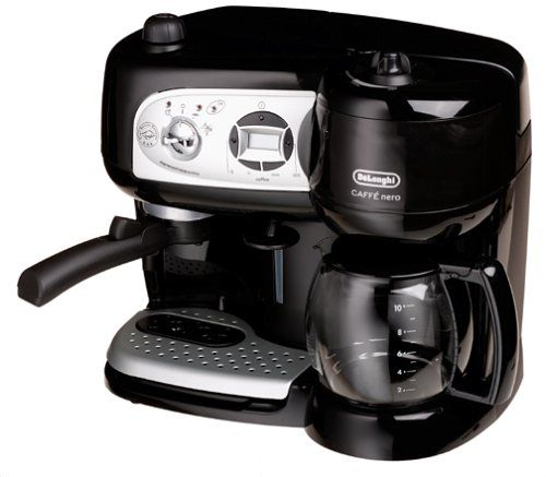 Special Offers - Delonghi BCO264B Cafe Nero Combo Coffee and Espresso Maker Review - In stock & Free Shipping. You can save more money! Check It (October 22 2016 at 12:01AM) >> http://coffeemachineusa.net/delonghi-bco264b-cafe-nero-combo-coffee-and-espresso-maker-review/