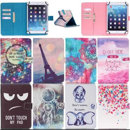"""Wallet Leather case for Samsung Galaxy Tab S2 9.7 SM-T810 T815 universal 10 """" 10.1"""" inch tablet Android cover M5C53D  — 803.34 руб. —"""