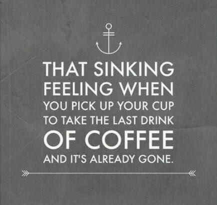 This is one of those moments…hoping someone put on a midday pot of coffee