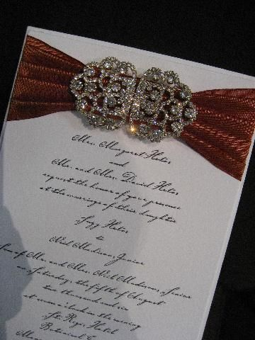 Truly Elegant (and Uber Expensive) Wedding Invitation.