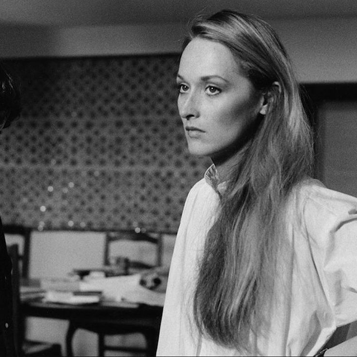 Meryl Streep playing Woody Allen's ex-wife in MANHATTAN.