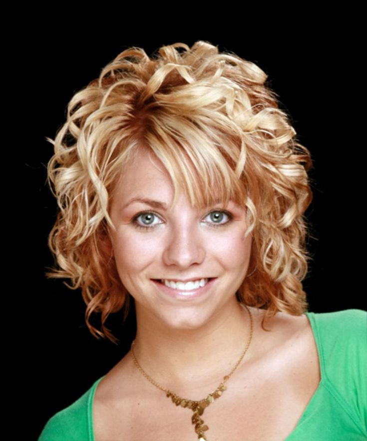 Medium Length Hairstyles With Bangs For Curly Hair