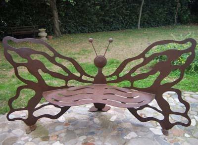 Panchina farfalla