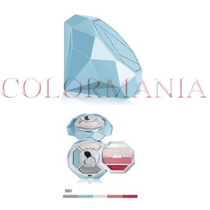 PUPA CRYSTAL DIAMOND TURCHESE CHIARO TROUSSE PRIMER OMBRETTI GLOSS COLORE 01