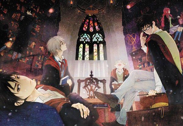 Harry Potter Anime magic