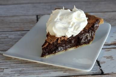 The Best Rich and Creamy Chocolate Chess Pie: Chocolate Chess Pie