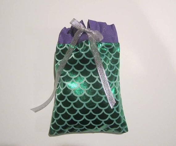 Little Mermaid Party Favor Bags