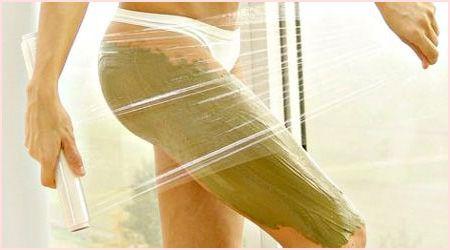 Обертывания в домашних условиях от целлюлита - уберите все лишнее.