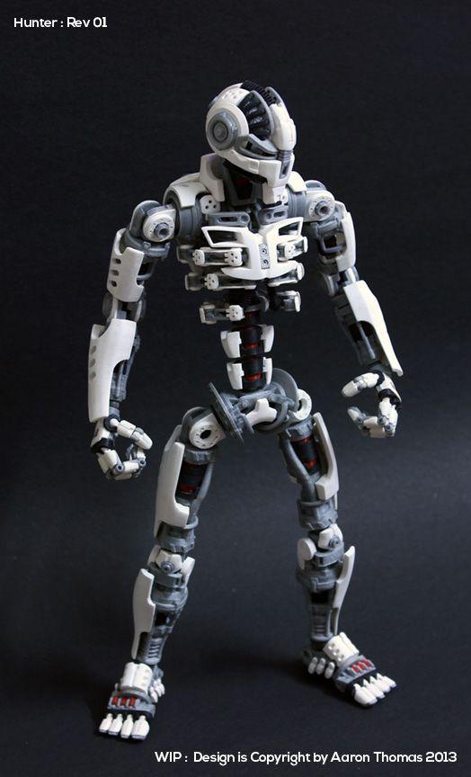 Amazing 3D Printed Action Figure #3dPrintedCharacters