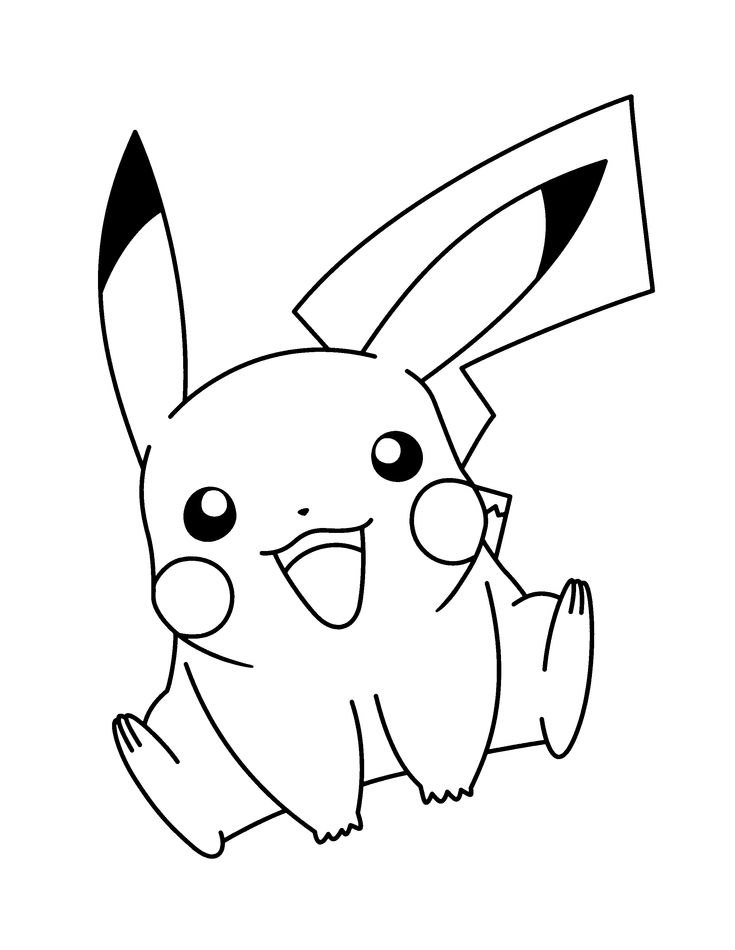 pokemon advanced coloring pages - Pokemon Coloring Pages Pikachu