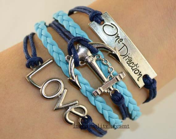 One direction bracelet is full of infinite by Individualitypresent, $5.99