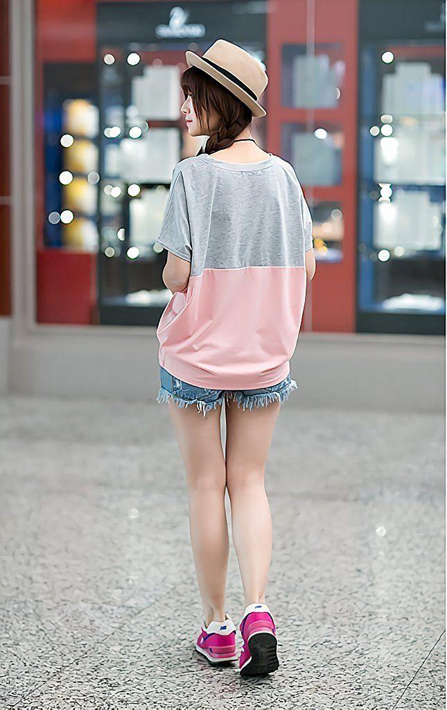 Amazon   ( マゴット ) Maggot レディースTシャツ ゆったり 半袖 ドルマン バットスリーブ きれいめ 選べる 3タイプ 3サイズ ちゃっかり 体形カバー (09 ブルー L サイズ)   Tシャツ・カットソー 通販