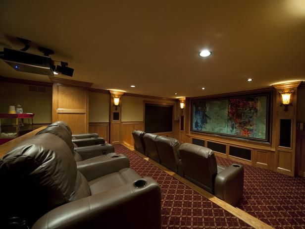 Home Theater Design Tips   Ideas For Home Theater Design | Theatre Design  And Hgtv