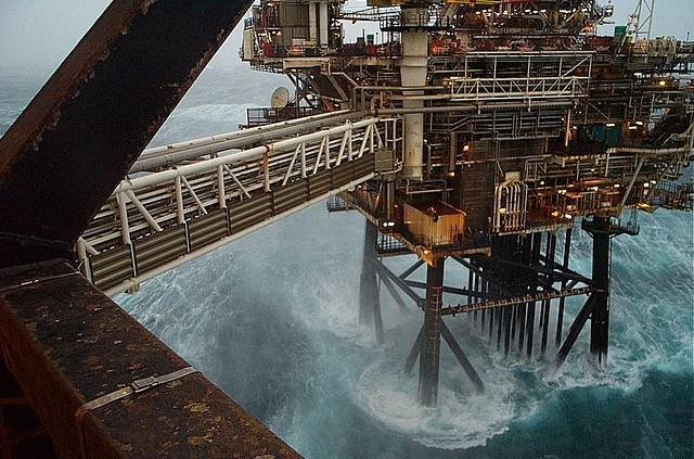 BP Bruce drilling platform