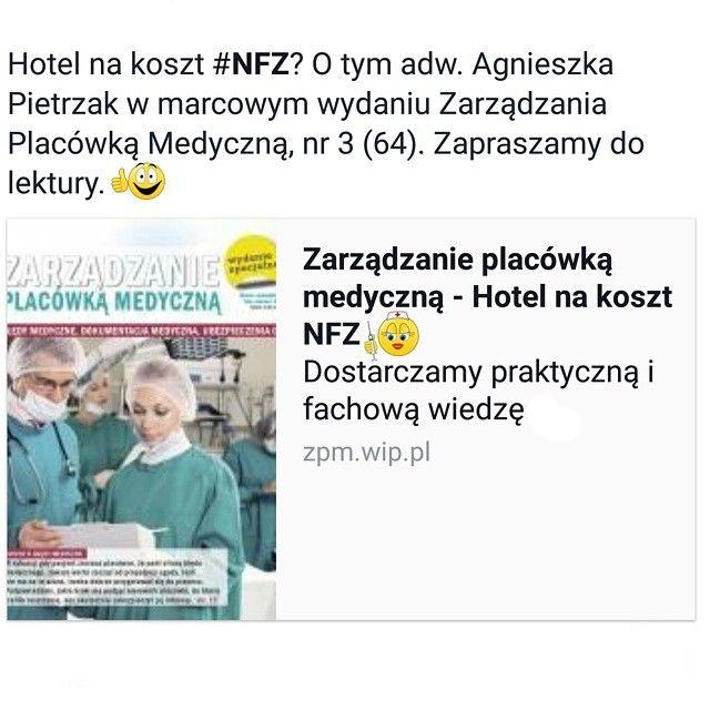 adw. Agnieszka Pietrzak z #APDK Adwokaci w marcowym numerze Zarządzania Placówką Medyczną m.in. o obowiązku zapewnienia niektórym pacjentom bezpłatnego zakwaterowania podczas leczenia. #adwokat #adwokaci #kancelariaadwokacka #kancelariaprawna #prawnik