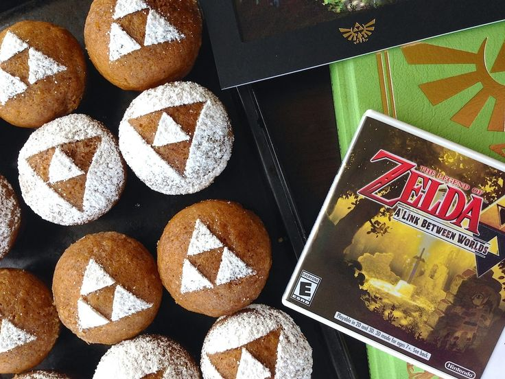 73 best legend of zelda recipes images on pinterest zelda legend of zelda triforce pumpkin muffins recipe by fiction food forumfinder Images