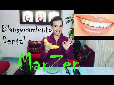SUPER Blanqueamiento Dental casero - YouTube