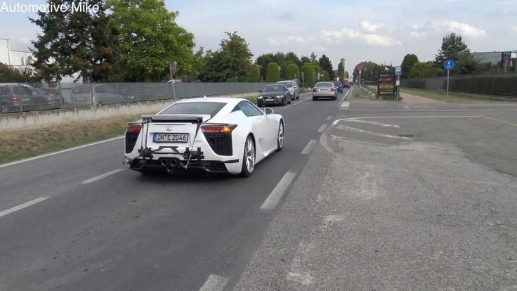 Warum testet Lamborghini einen Lexus LFA mit Ingolstädter Kennzeichen?