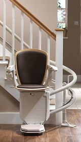 The new Stannah Starla Curved Stairlift is now available to buy from Dolphin Stairlifts with installed prices starting from £4195 including installation and up to 5 metres of rail. The Starla replaces the Sofia and Solus models and can be used on straight and curved stairs with the Stannah 420 and 260 rails respectively.