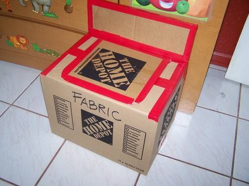 Home Depot Box and Duct Tape (mmm) - TOYS, DOLLS AND PLAYTHINGS