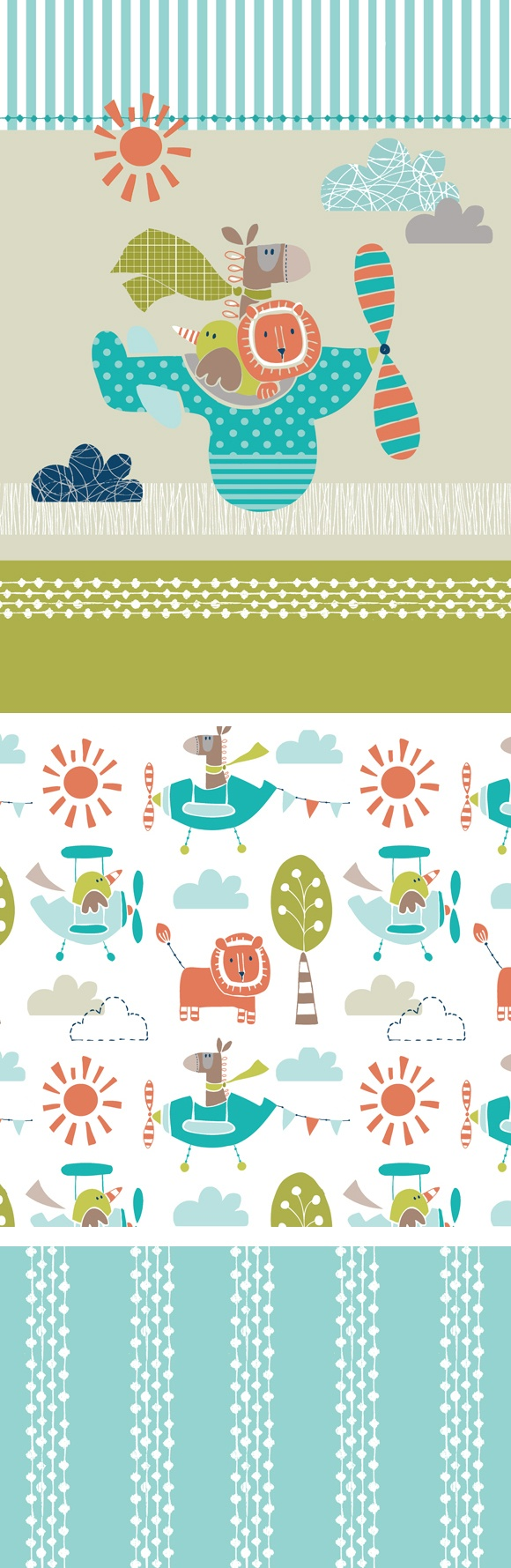 wendy kendall designs – freelance surface pattern designer » up and away