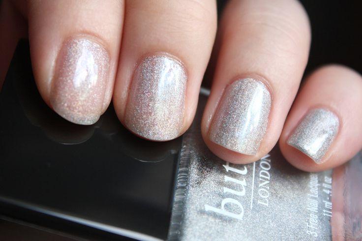 butter LONDON Dodgy Barnett nail swatches - coats