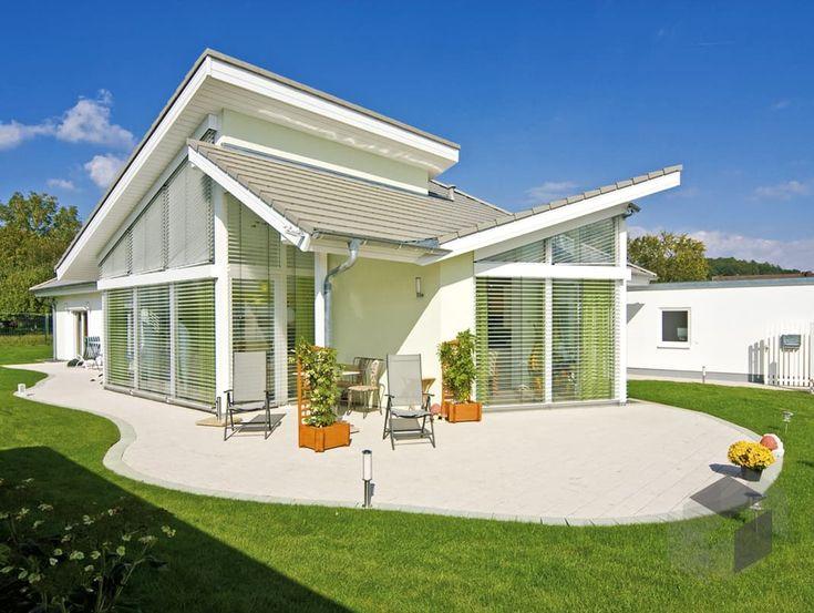 Fertighaus modern satteldach  Edition Select 181 von Wolf-Haus | Bungalow | Satteldach www ...
