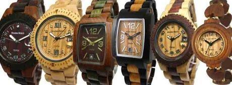 Tense wood watches!!! - Paperblog