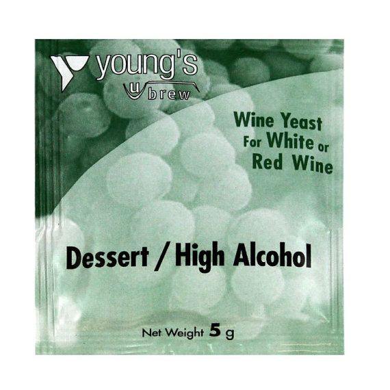 Young's Dessert/High Alchol Wine Yeast Sachet by TheHomeBrewShop
