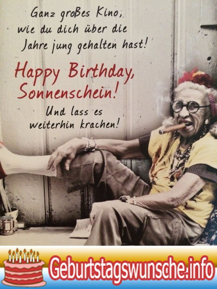 Geburtstagswunsche originell